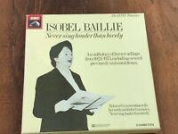 isobel baillie - never sing louder than lovely ( 2 cassettes )