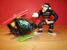2003 McDonald's Kim Possible Monkey Fist #7 & Drakken's Helicopter #3