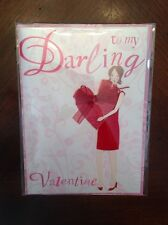 To My Darling Valentine Happy Valentines Day Card By Meri Meri