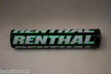 Renthal Shiny Moto-X Handlebar Motorcycle Bar Pad Streetfighter Black & Green