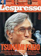 L'Espresso.Antonio Fazio,Matt Damon,kkk
