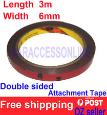 3M Genuine 4229p Automotive  Acrylic Plus Double Sided Attachment Tape 6mm