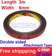 3M Genuine 4229p Automotive  Acrylic Plus Double Sided Attachment Tape 6mm