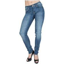 Hosengröße W25 Damen-Jeans mit geradem Bein aus Denim