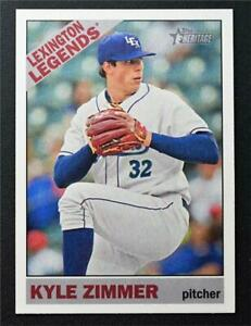 2015 Topps Heritage Minors #7 Kyle Zimmer - NM-MT