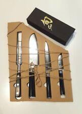 Malle W. Trousseau 3er Set Kai Shun Messer mit Schleifstein und Fleischgabel
