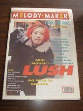 MELODY MAKER 1990 DECEMBER 15 LUSH VANILLA ICE KILLING JOKE INXS NIRVANA JAMES