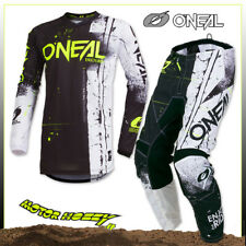 COMPLETO CROSS ENDURO O'NEAL ONEAL ELEMENT SHRED BLACK 2019 TAGLIA 32 - M