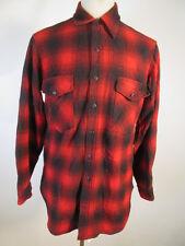 VTG USA Pendleton 100% Virgin Wool Shirt Size M 10588