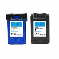 21XL 22XL Ink Cartridge For HP OfficeJet 4300 4310 4315 J3600 Fax 1250 3180 2PK