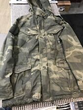 Abercrombie & Fitch Men's Military Camo Field Jacket size XL Extra Large