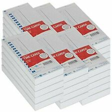 Pyramid Time Systems Attendance Cards For Time Clock Models 35003550ss3600s