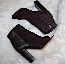 Sam Edelman Yarin  black Kid suede leather Booties Women's size 7 m