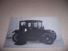 1917 RAUCH & LANG ELECTRIC CAR - ANTIQUE AUTOMOBILE POSTCARD