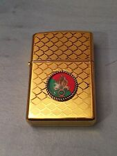 BRIQUET A ESSENCE FANTAISIE METAL LEGION ETRANGERE FLAMME FOREIGN LEGION