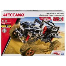 Meccano 6037616 off Road Rally Jeep Racer 25 in 1 Model Building Set