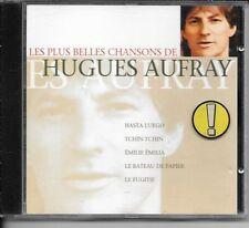 CD COMPIL 12 TITRES - HUGUES AUFRAY - LES PLUS BELLES CHANSONS - NEUF