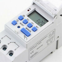 AC 110/220V 16A Digital LCD DIN Programmable Weekly Rail Timer Time Relay Switch
