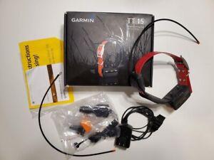Garmin TT15 Dog Tracking Training GPS Collar Red Device for Alpha 100 System