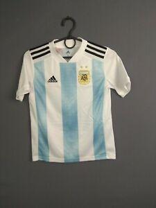 Argentina Jersey 2018/19 Home Kids 9-10 y Shirt Camiseta Adidas BQ9288 ig93