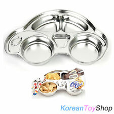 Korean Car Shape Stainless Steel Food Tray for Kids or Your Diet / BPA Free