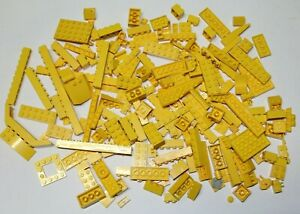 Lego Yellow Lot Pieces - 260 grams Assorted Mixed Parts Blocks