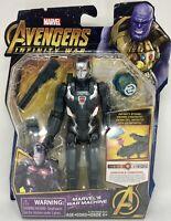 "War Machine 6"" Action Figure w/ Infinity Stone Marvel Avengers Infinity War"