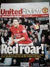 12/01/2008 Manchester United v Newcastle United