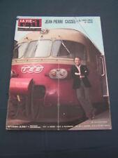Vie du rail 1974 1444 ORIENT EXPRESS EZY SAUVAGES MOUILLèRE JEAN PIERRE CASSEL