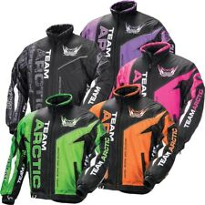 Arctic Cat Women's Team Arctic Pro Flex Jacket - Green Orange Black Pink Purple