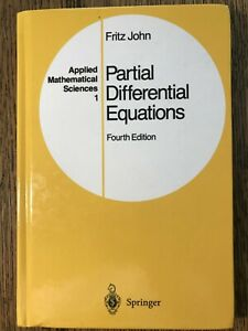 Partial Differential Equations by Fritz John: Like New