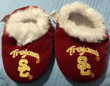 Infant Trojans SC  Slippers Holiday Christmas XL