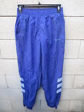 VINTAGE Pantalon ADIDAS violet années 90 pant oldschool nylon parachute 186 XL