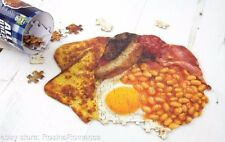 All Day Full English Breakfast Jigsaw Novelty Puzzle Food Fun Games Stag Party