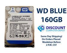 "160GB 2.5"" HDD Notebook / Laptop Hard Drive Internal SATA Western Digital Blue"