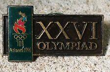 1996 Atlanta Olympics Hat Pin XXVI Olympiad Olympic Torch