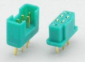 MULTIPLEX (MPX) 6 PIN CONNECTORS   2 sets
