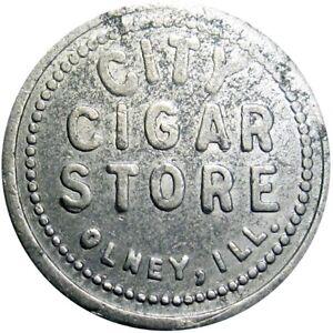 Olney Illinois Good For Token City Cigar Store