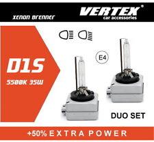Vertex D1S Xenon Brenner +50% Extra Power 5500K mit E-Prüfzeichen 2 Stück