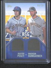 2016 Topps All Star Dual Stiches ASD-PB Buster Posey and Madison Bumgarner 3/25