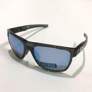 Oakley Sunglasses * Crossrange XL PRIZM 9360-09 Grey Smoke Deep H20 Polarized