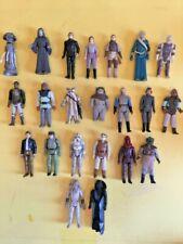 STAR WARS VINTAGE FIGURES <> 22 X original figures.