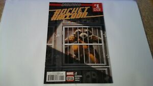 MARVEL COMICS: ROCKET RACCOON - GROUNDED -  #01 - DIRECT EDITION
