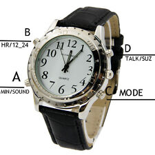 English Speaking Talking Watch for Blind Person Visually Impaired Elderly People
