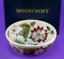 Boxed Moorcroft Pottery Bowls