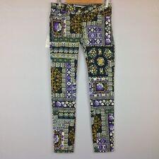 bf85c1fabd Nuevo Etienne Marcel pantalones angostos para mujer 28 Floral Azteca