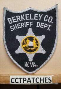 BERKELEY COUNTY, WEST VIRGINIA SHERIFF (POLICE) SHOULDER PATCH WV