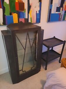 Art Deco Cabinet And Side Table