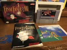 Final Fantasy III (Super Nintendo Entertainment System, 1994) SNES Square Moogle