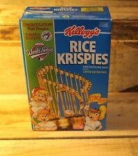 Toronto Blue Jays 1993 World Series Kellogg's Rice Krispies Cereal Box MLB Rare